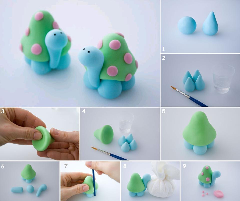 Пошаговые лепки из пластилина