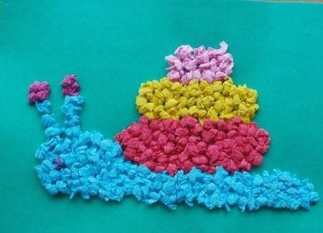 Поделки с салфетками для детей 2 лет