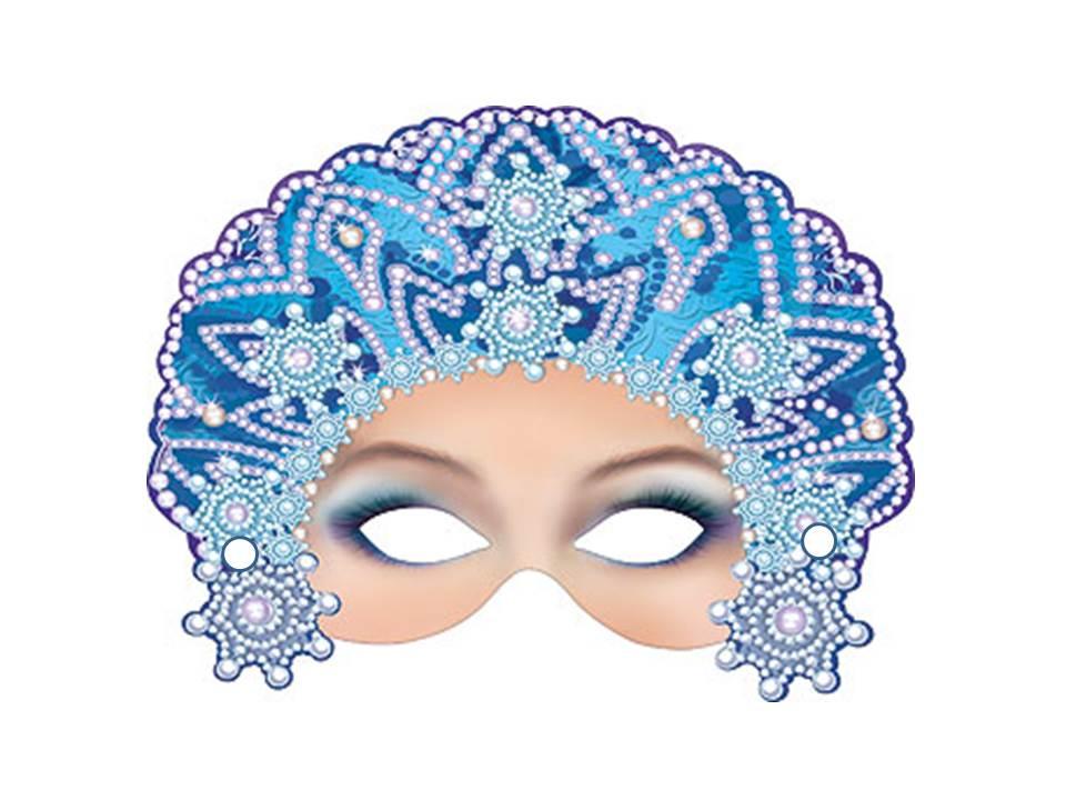 Новогодние маски на лицо своими руками